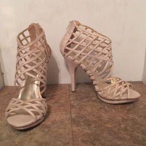 Nine West Studio gladiator style heels sz 7.